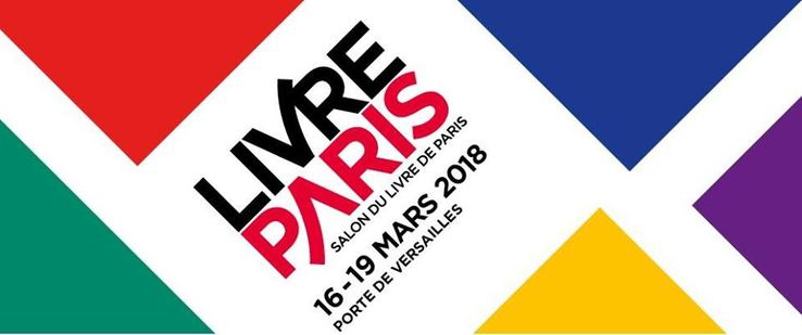 France culture en direct du salon livre paris 2018 for Salon 2018 france