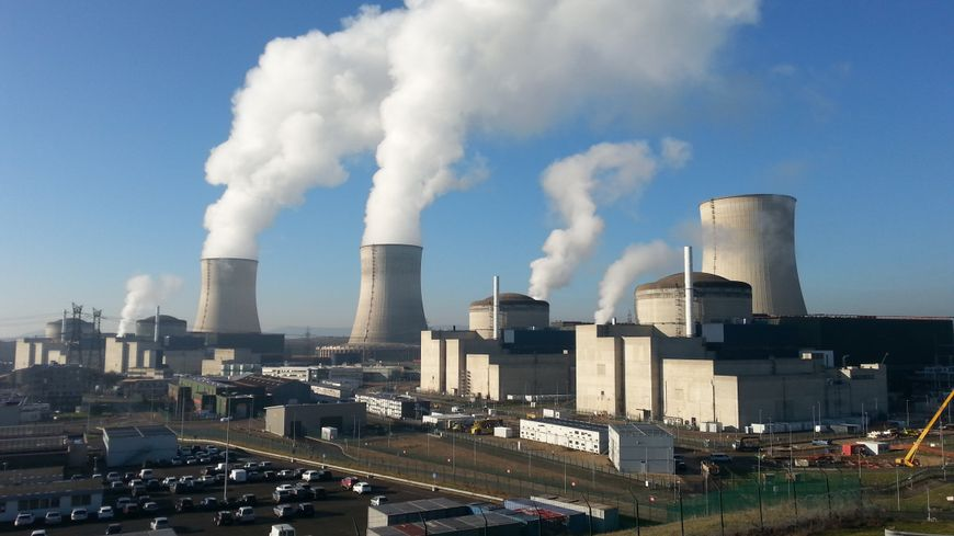 La centrale EDF de Cattenom.