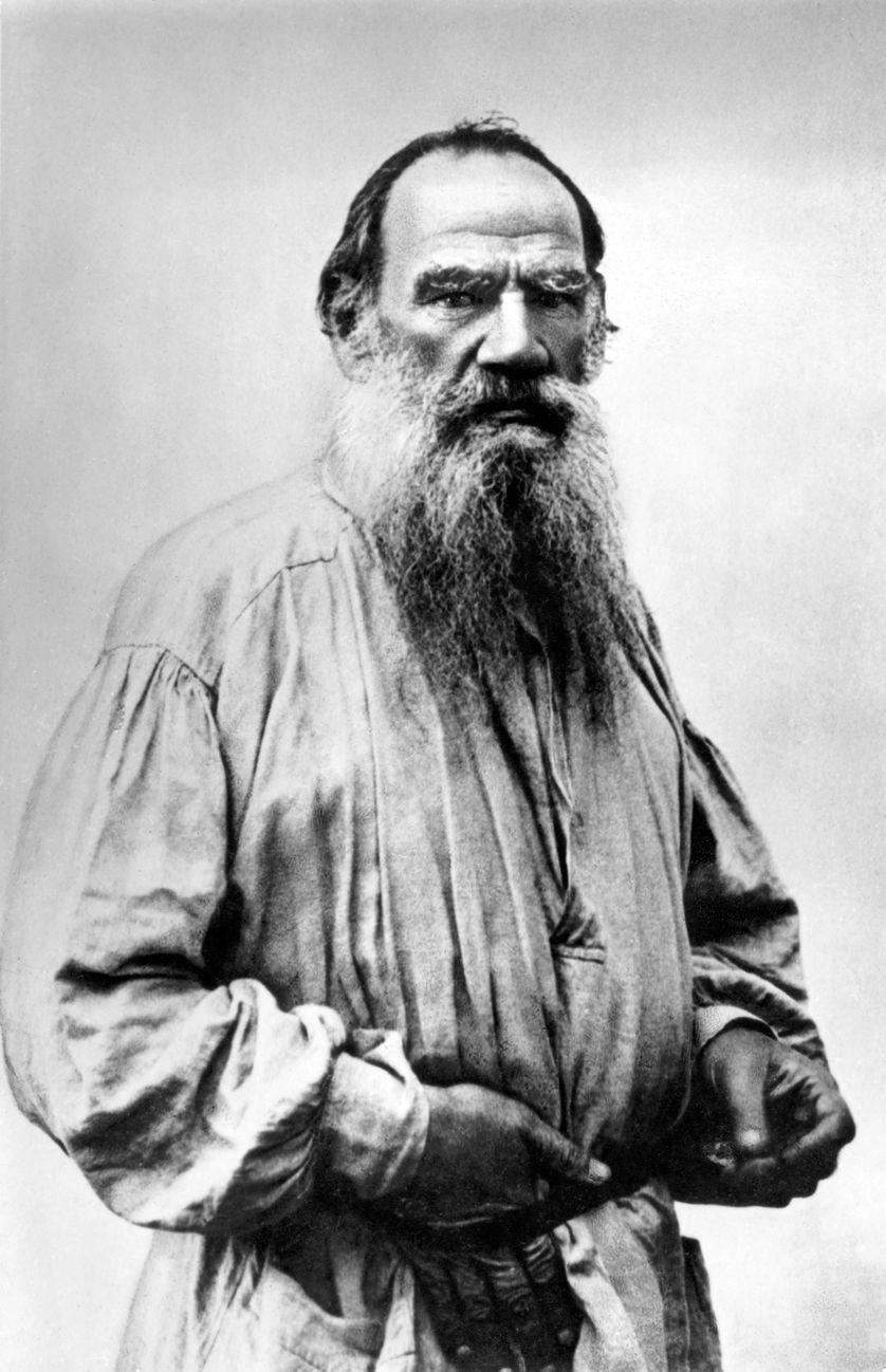 Léon Tolstoï (autour de 1890)