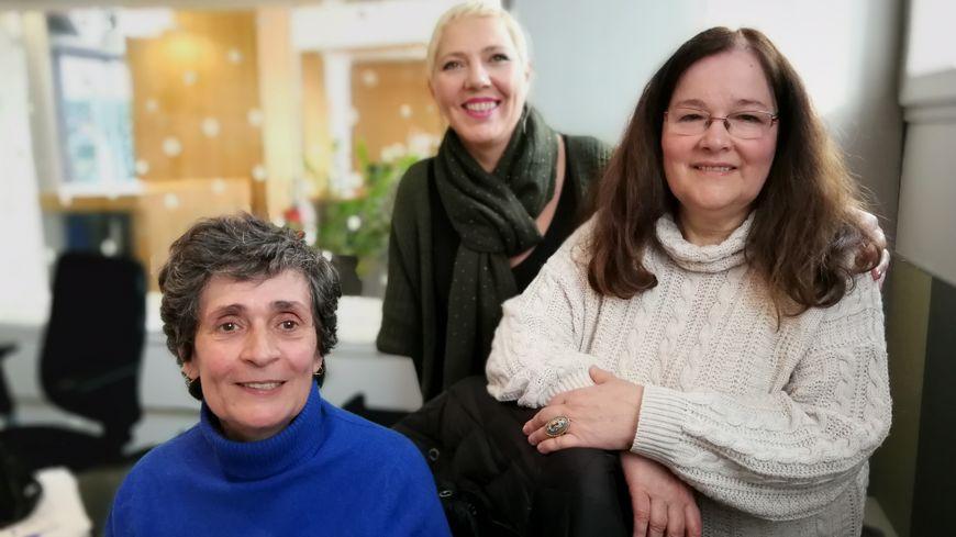 Jeanne-Marie Minodier et Mireille Baraz de Planète Autisme Drôme Ardèche