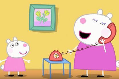 Peppa Pig (capture d'écran tirée de l'épisode Peppa Pig English Episodes - Peppa's Best Friends! - #063) sur Youtube