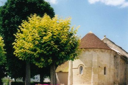 Eglise romane de Sainte-Lizaigne