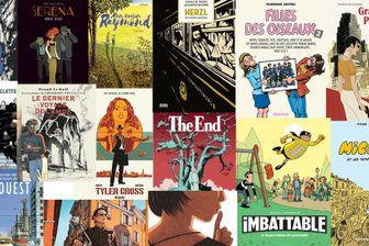 Les couvertures des 15 bandes dessinées du Printemps 2018 choisies par France Inter