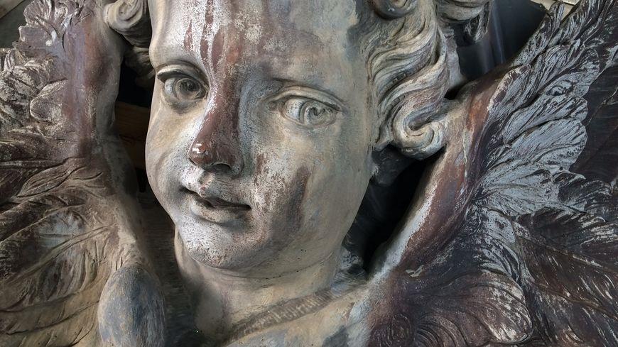 Les anges de la chapelle de Versailles bientôt restaurés à la Socra de Marsac