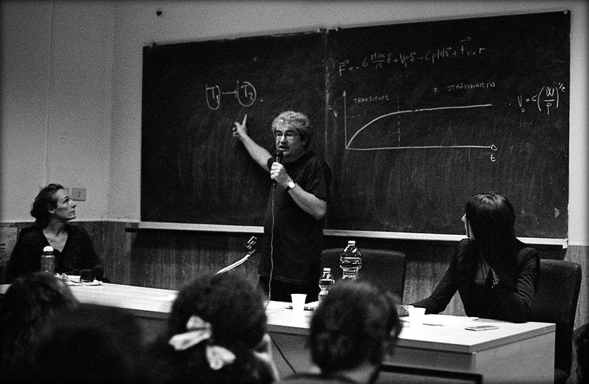 Carlo Rovelli à l'université La Sapienza à Rome