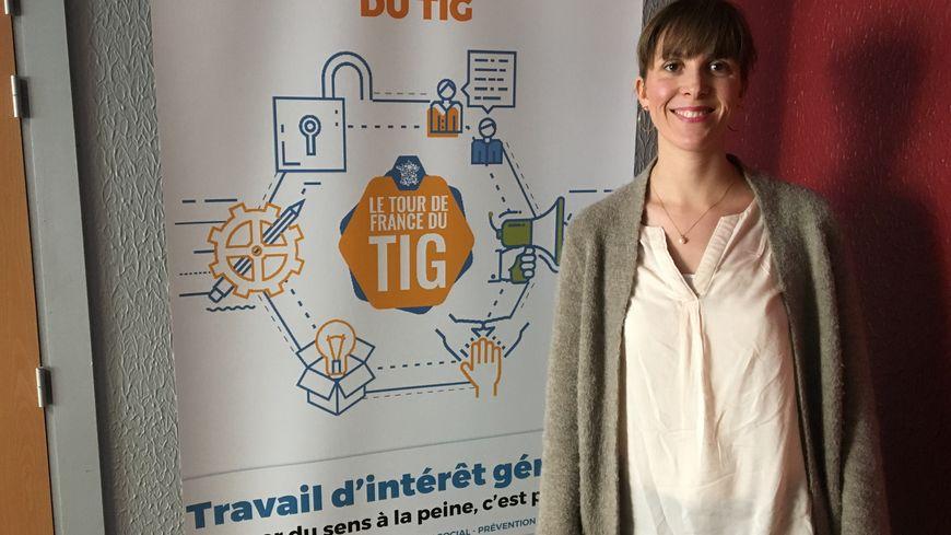 Andréa Tourette juge des applications des peines à Clermont-Ferrand