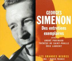 Georges Simenon. Des entretiens exemplaires.