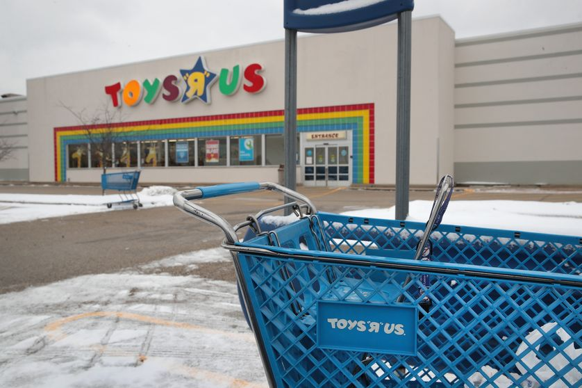 Magasin Toys'R'us de Highland Park (Illinois) en janvier 2018