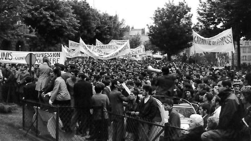 Comme ailleurs, à Clermont-Ferrand le mouvement de mai 68 a commencé avec les étudiants et s'est ensuite propagé, notamment aux salariés Michelin