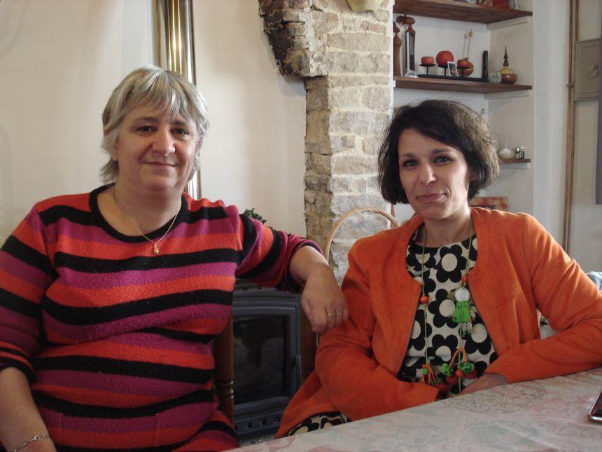 Isabelle Creuzenet, présidente du foyer rural de Bligny-lès-Beaune, et Christine Mondange, qui a plus particulièrement suivi ce dossier au sein de l'association.