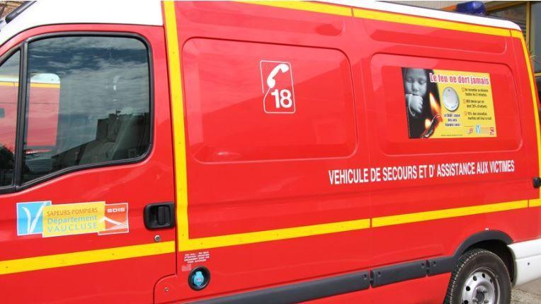 Véhicule des pompiers de Vaucluse (illustration)