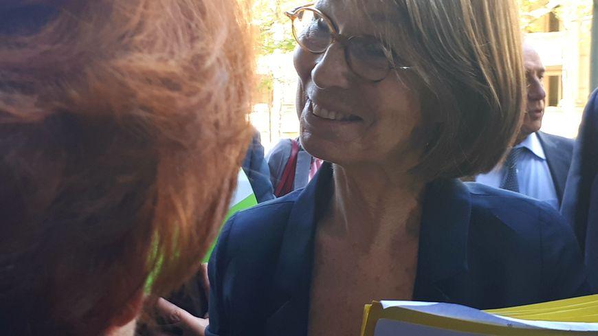La ministre Françoise Nyssen est venue dans l'Hérault présenter le Pass culture