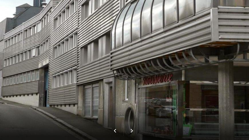 Les locaux de la charcuterie Thiol à Mayenne - Capture Google