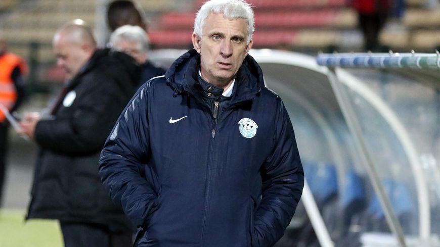 Le président du Tours FC, Jean-Marc Etttori