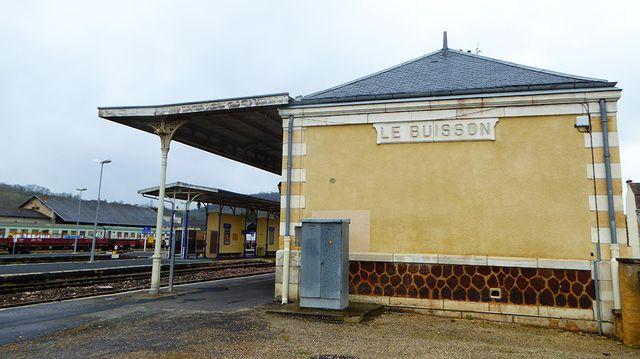 La gare du Buisson de Cadouin est aujourd'hui sous-exploitée