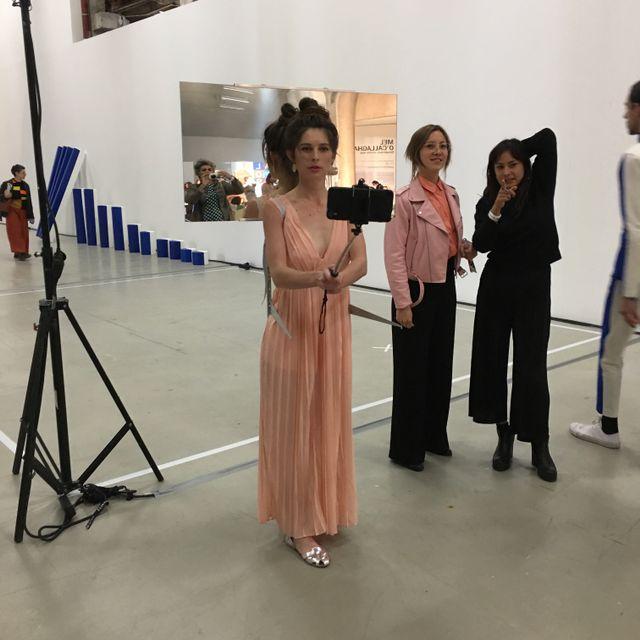 Le dispositif de l'artiste Amandine Maas, en 2017 à Do Disturb