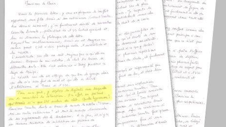 Faute de réponse du maire de Créteil, la mère de la sportive harcelée réitérait son courrier à l'édile