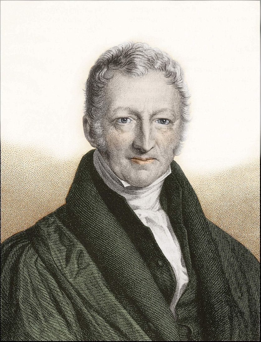 Portrait de Thomas Robert Malthus (1766-1834)
