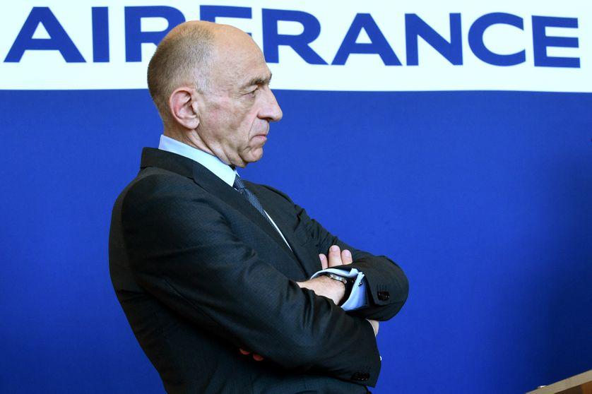 Jean-Marc Janaillac, PDG d'Air France - KLM