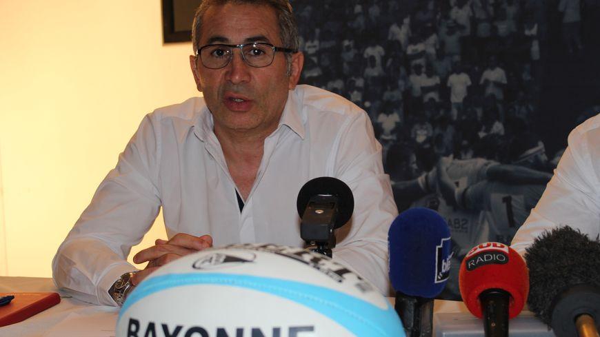 Philippe Tayeb est le nouveau président du directoire de l'Aviron Bayonnais Rugby Pro