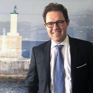 Gilles Roussel, le 11 avril 2018