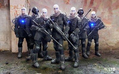 Les personnages que le spectateur côtoie dans Trinity, le film en VR de Patric Boivin