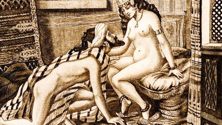 "Illustration du ""Jardin parfumé"" de Cheikh Nefzaoui"