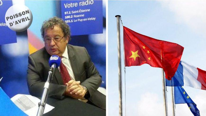 Le maire d'Andrézieux-Bouthéon, Jean-Claude Schalk, a décidé d'ouvrir grandes les portes de sa commune à la Chine.