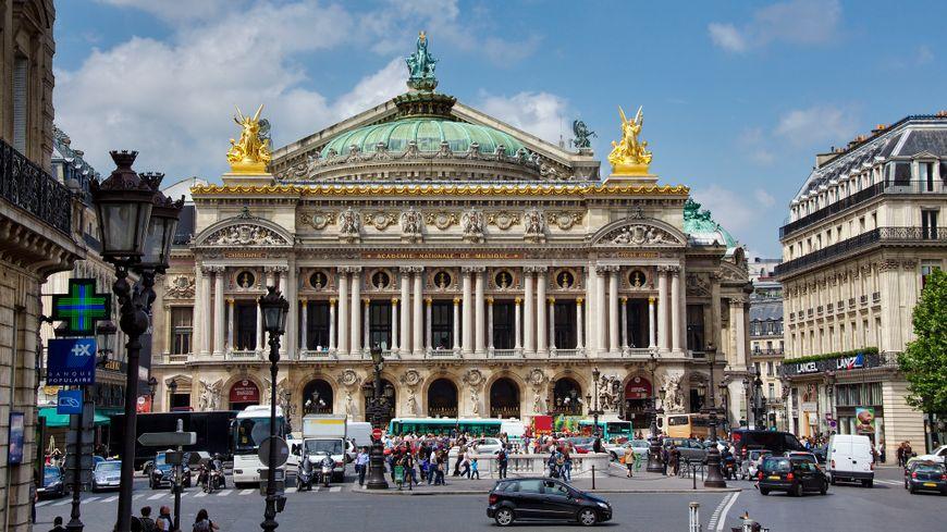 L' opéra Garnier.
