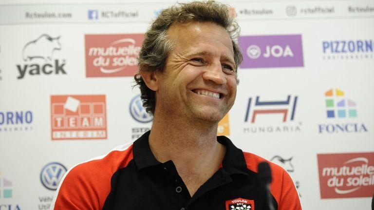 Fabien Galthié, manager principal du RCT