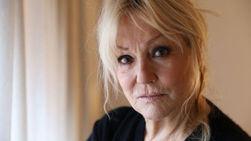 L'actrice Mylène Demongeot