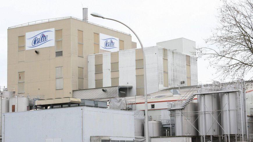 L'usine Celia à Craon en Mayenne.