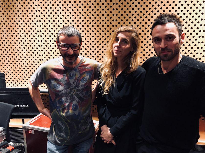 Laurent Tixador, Barbara Carlotti et Lionel Sabatté