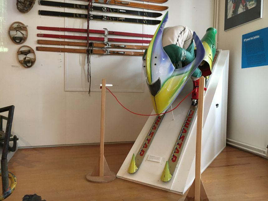 Un prototype de ski à propulsion pour battre le record du monde de vitesse