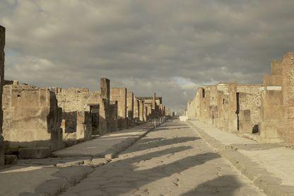 Les ruines de Pompéi accueillent 3,5 millions de touristes chaque année.