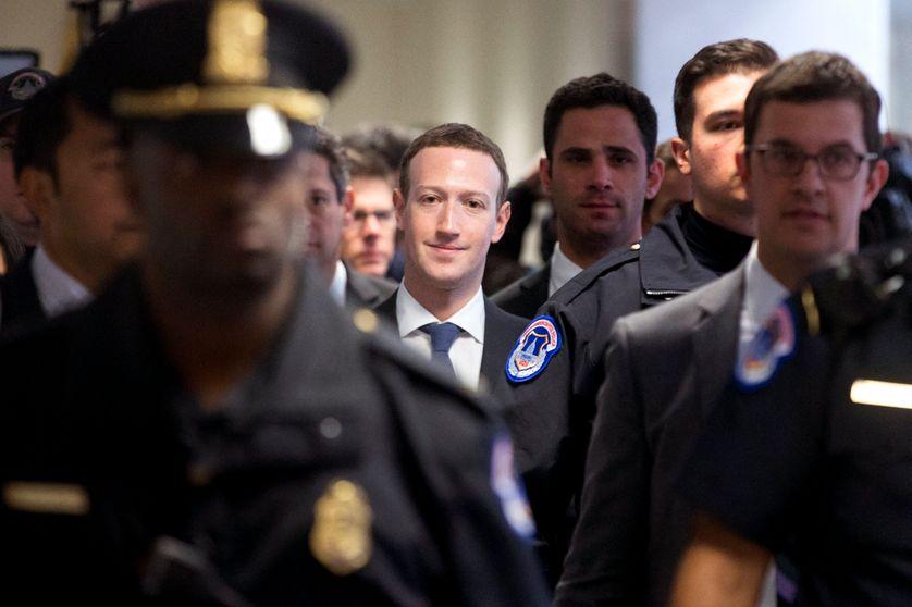 Mark Zuckerberg a rencontré des élus américains dès ce lundi 9 avril