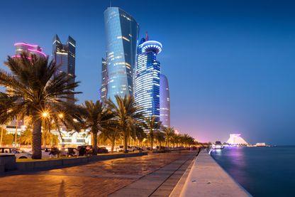 Doha la nuit