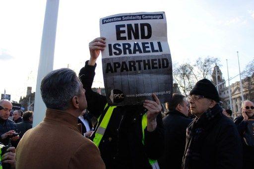 Manifestation antisioniste à Londres, mars 2018.