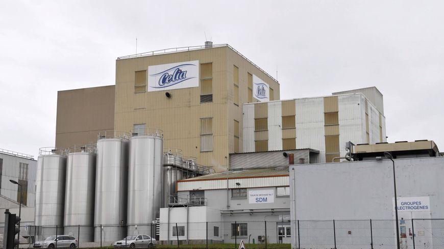 L'usine Lactalis de Craon en Mayenne