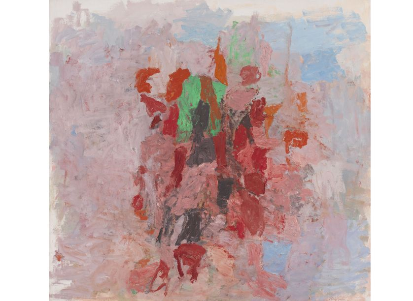 Philip Guston (Montréal, Canada, 1913 – Woodstock, New York, États-Unis, 1980) Dial, 1956 Huile sur toile, 182,9 × 194 cm New York, Whitney Museum of American Art, purchase, inv. 56.44