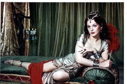 Hedy Lamarr dans Samson et Dalila, réalisé par Cécil B.DeMille en 1949