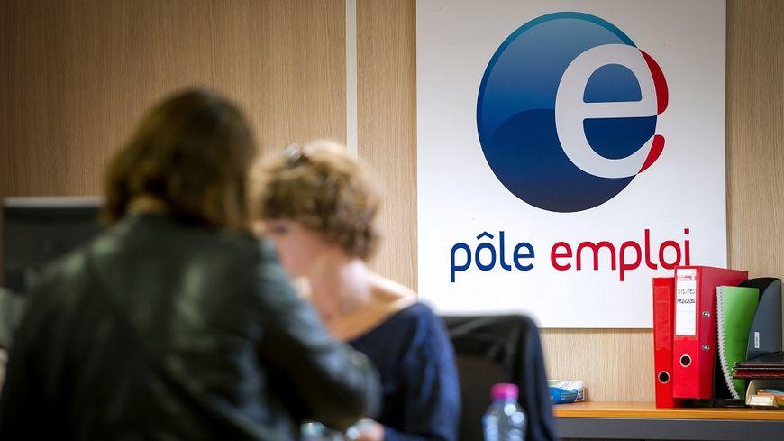 Dans une agence Pôle emploi, à Armentières.