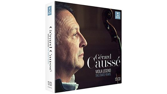Coffret 13 CD Gérard Caussé, Viola Legend