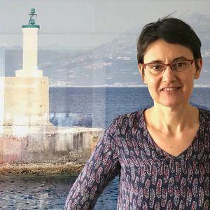 Nathalie Arthaud, le 9 avril 2018