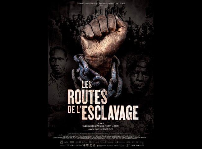 """Affiche de la série """"Les routes de l'esclavage"""""""