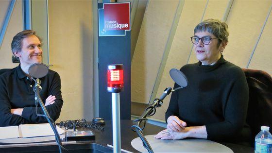"""France Musique, studio 152... Philippe Venturini & Marie-Christine Vila """"Rêve d'Espagne. Musique espagnole en France"""" Éditions Fayard"""