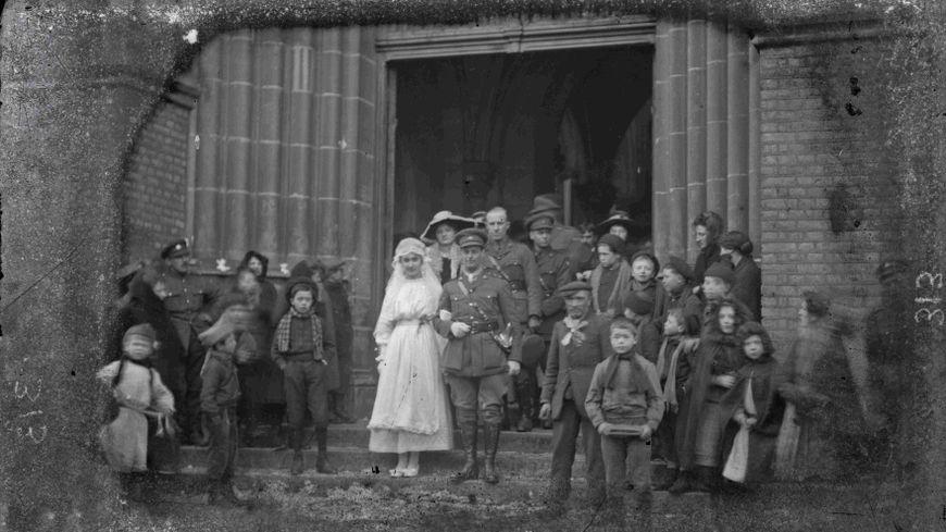 Harry Hartley et Simone Marie Pécourt se sont mariés le 5 janvier 1918