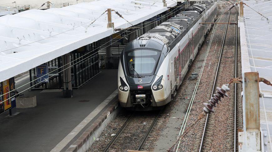 Un train en gare de Mulhouse (photo d'illustration)