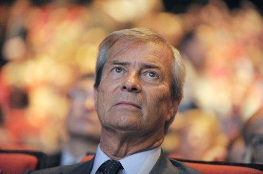 L'homme d'affaires Vincent Bolloré, 66 ans