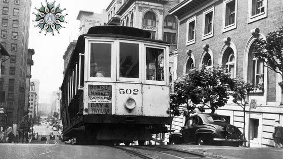 Tramway 502 à San Francisco en 1945
